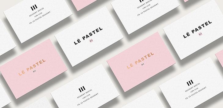 40 Elegant Minimal Business Card Designs 2018