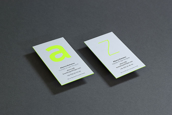 bwt business cards - Minimal Business Card