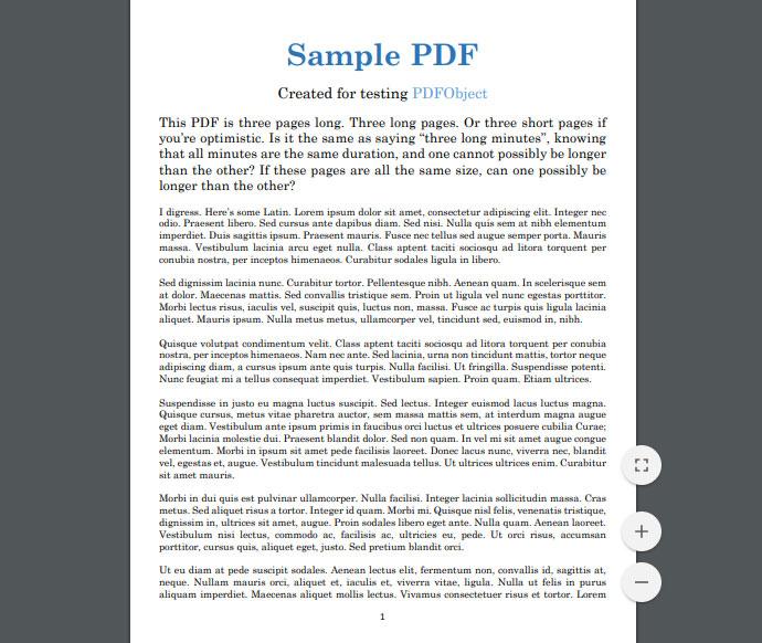 PDFObject