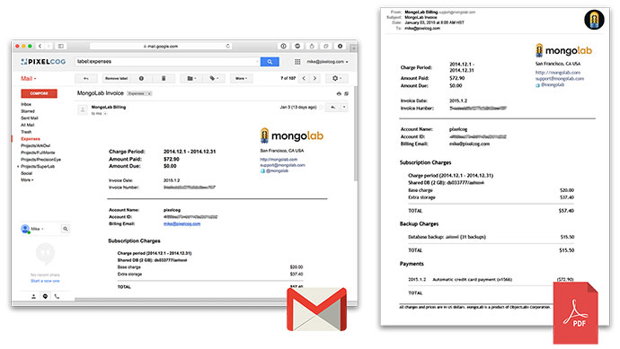 Gmail To PDF