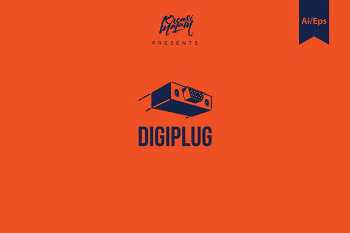 Digiplug Logo Template