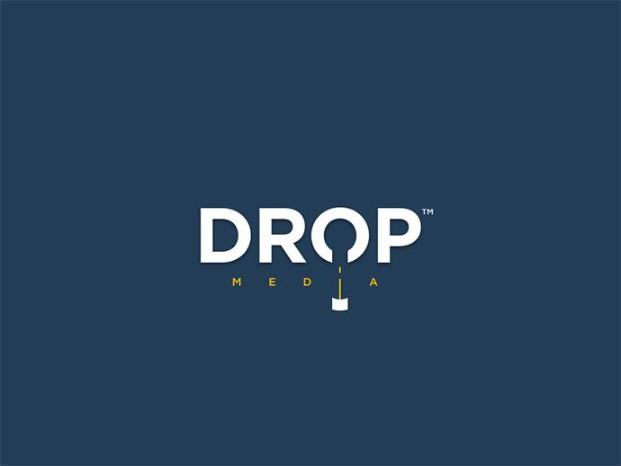 Drop Simple & Clever Logo Design