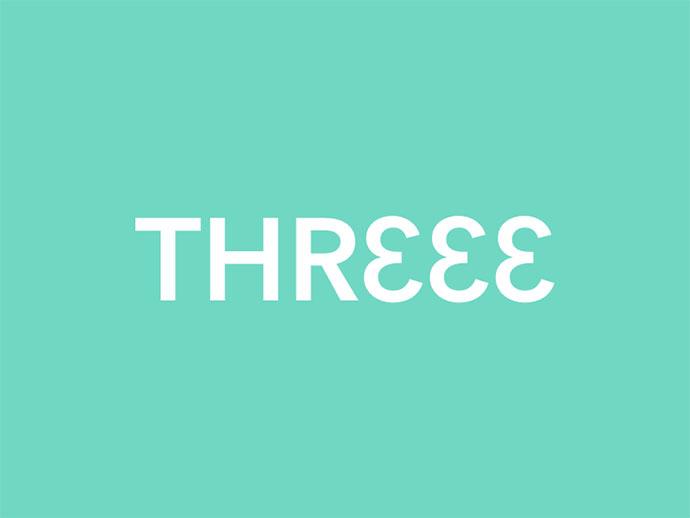 Three clever wordmark