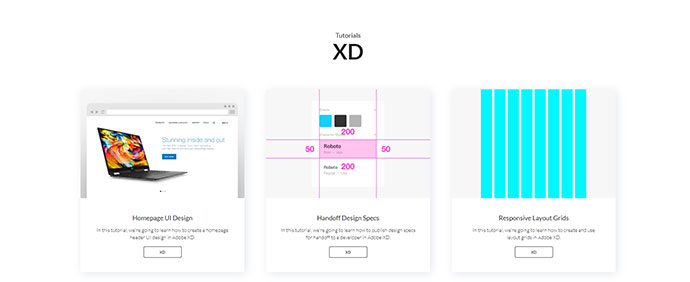 Adobe XD Tutorials