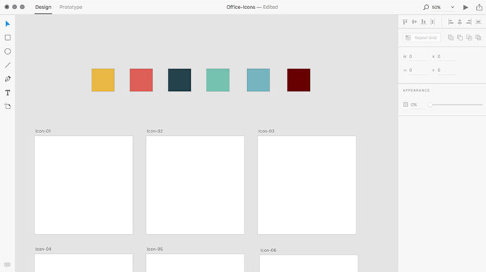 How To Create Icons In Adobe XD