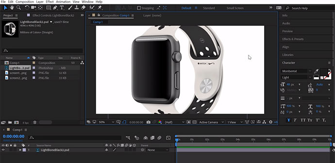 UI Design & Animate a Smart Watch App with Adobe XD & After Effects