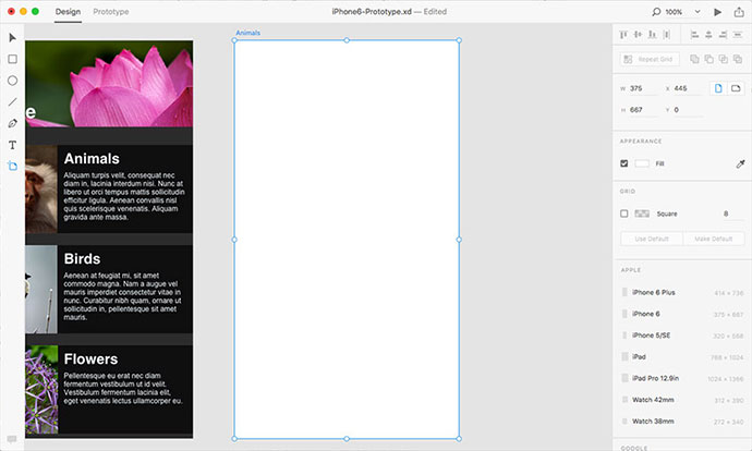 How to Create a UI Prototype Using Adobe XD