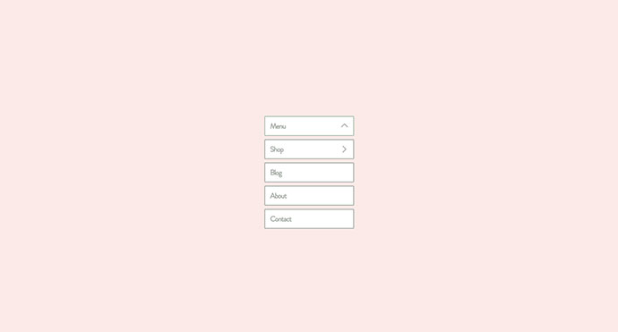CSS-Only Nested Dropdown Navigation