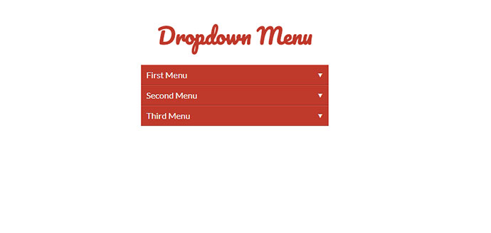 React Dropdown Menu