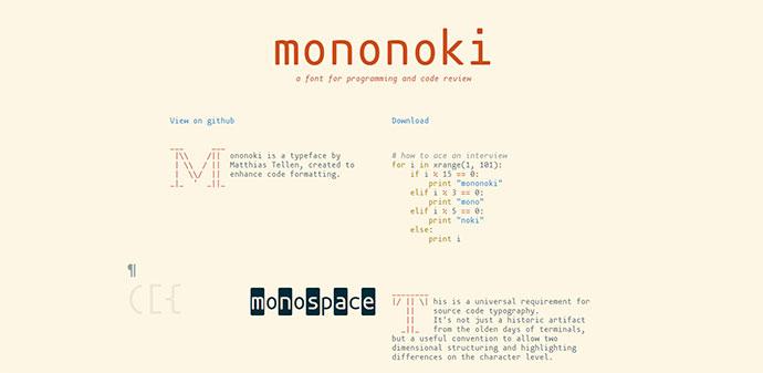 20 Free Eye-pleasing Monospace Fonts For Coding – Bashooka