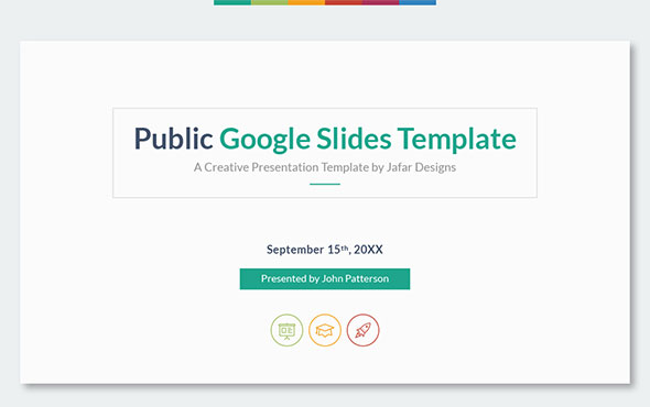 Public - Multipurpose Google Slides Template