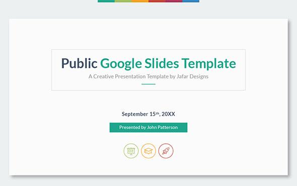 21 best minimal google slide template designs web graphic design