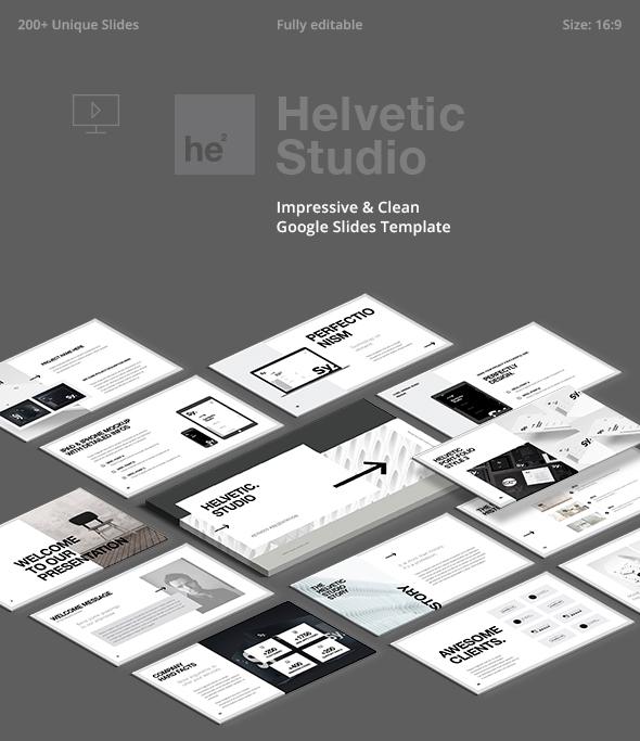 Helvetic Minimal Google Slides