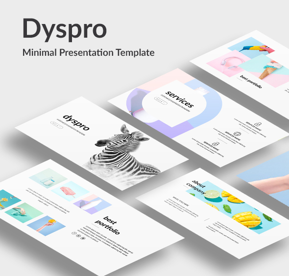 Dyspro - Minimal Google Slide Template