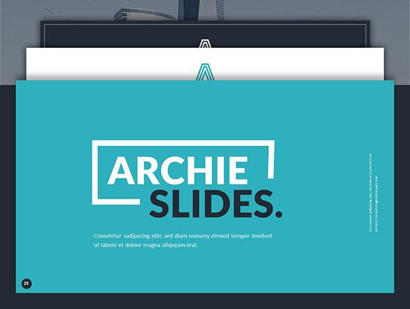 Archie Creative Google Slide