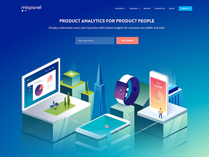 Homepage Illustration
