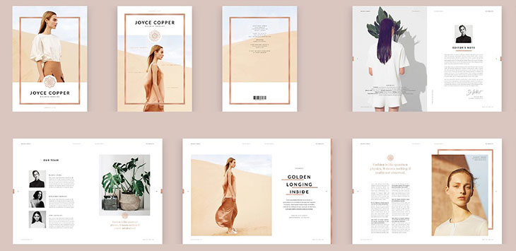 25 Best PSD & InDesign Magazine Design Templates 2018