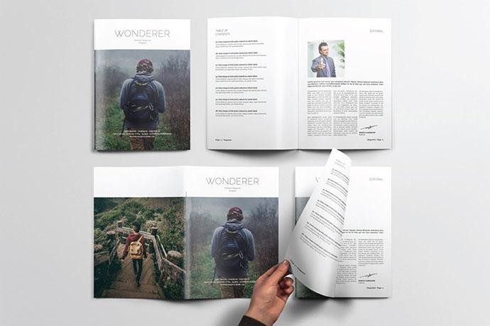 A5Wonderer Magazine