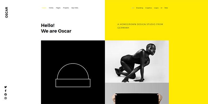 OSCAR - Multi Concept Creative Portfolio / Agency WordPress Theme