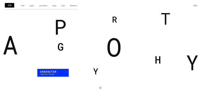 Ion - A Portfolio Theme for Creatives