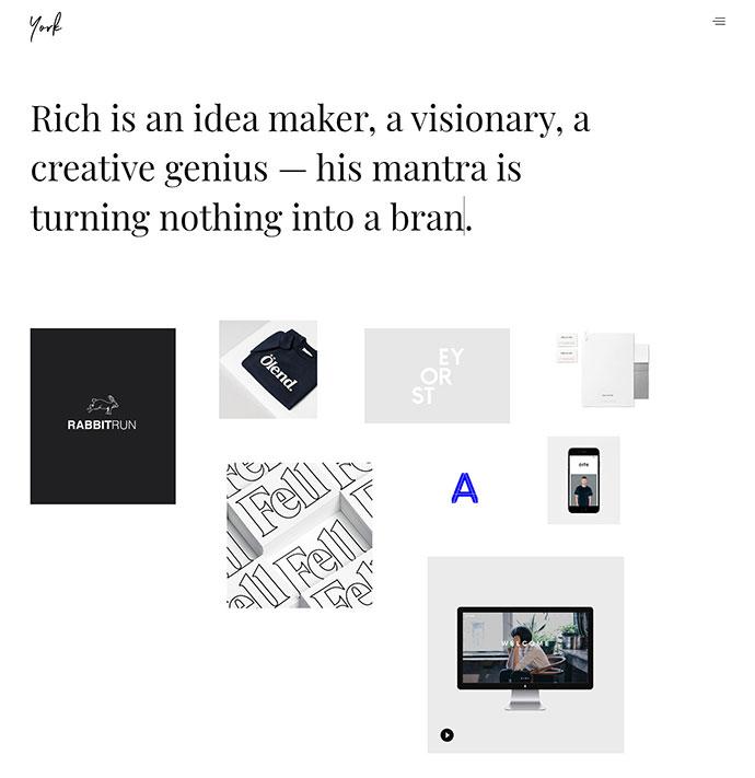 York Pro - Creative Portfolio WordPress Theme for Freelancers & Agencies