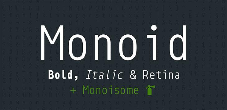 23 Free Eye-pleasing Monospace Fonts For Coding