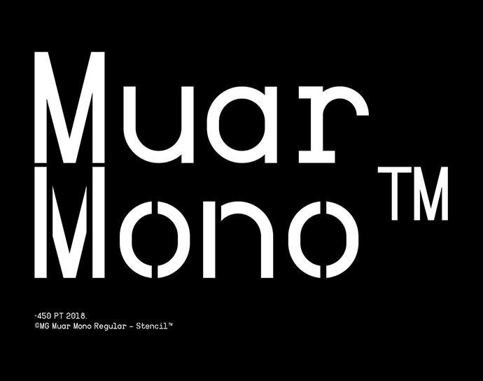 Muar Mono Typeface