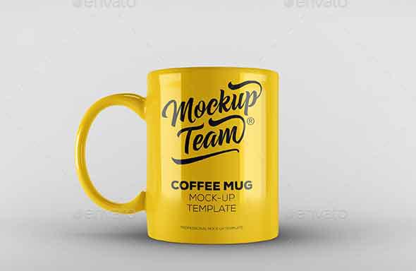 Mug Mock-up Template