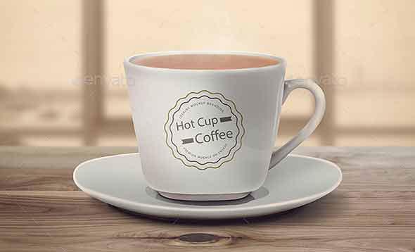 Realistic Cup & Mug Mock-Up
