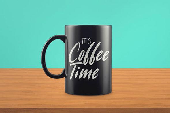 Realistic Mug Mock-Up Template