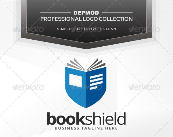 Book Shield Logo