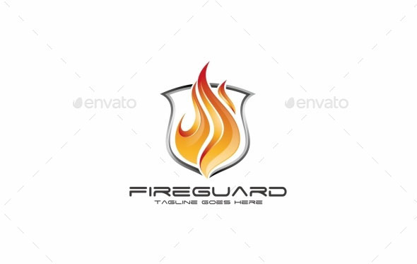 Fire Guard - Logo Template