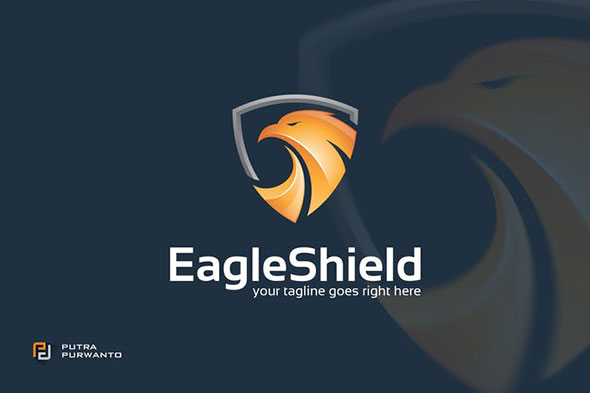 Eagle Shield - Logo Template