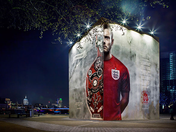 Nike Football: England Kit Launch Southbank