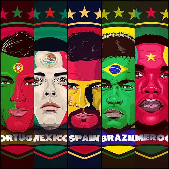 Stars Of Brazil 2014