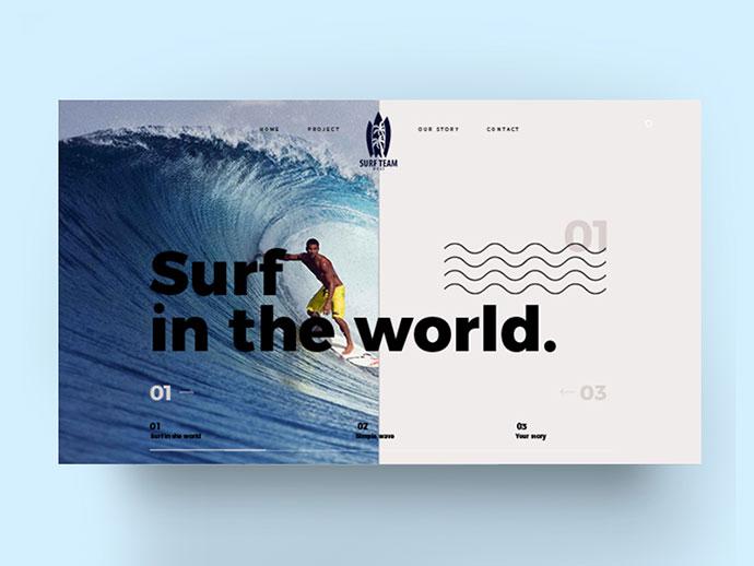 Surf / web