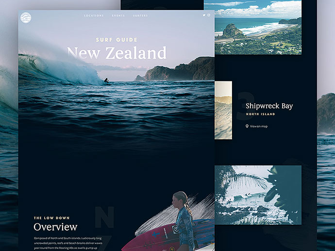 Surf Guide: New Zealand