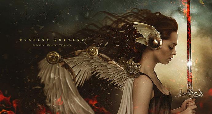 Celestial Warrior Victoria