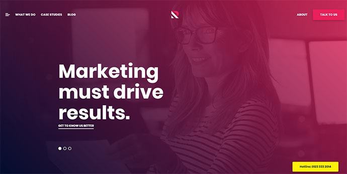Marketing, B2B Marketing, Landing, SEO WordPress Theme - Royal