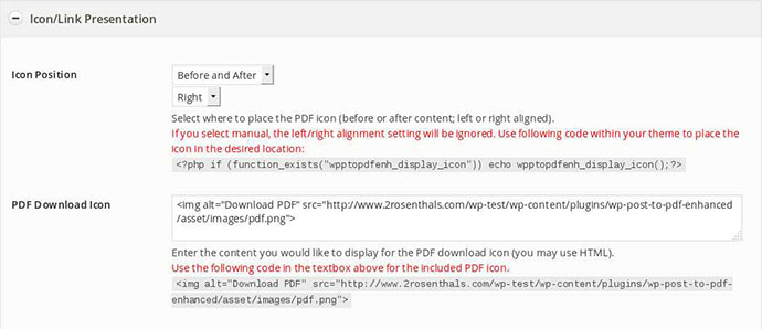 WP Post to PDF Enhanced