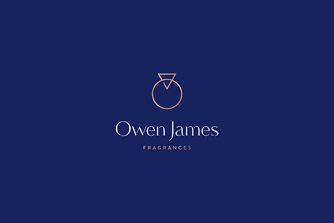 Owen James logo design