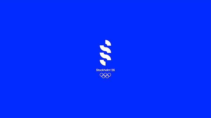 Stockholm Sweden 2026 Olympic Games Branding