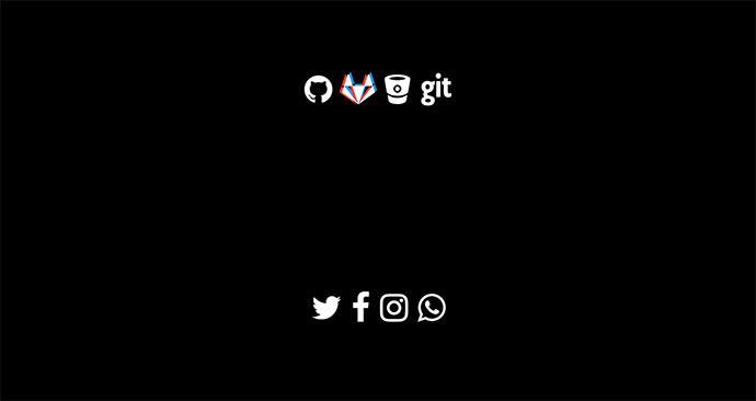 Social Icons vision 3D