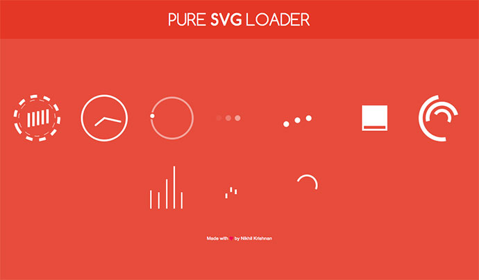 SVG Loader Animation