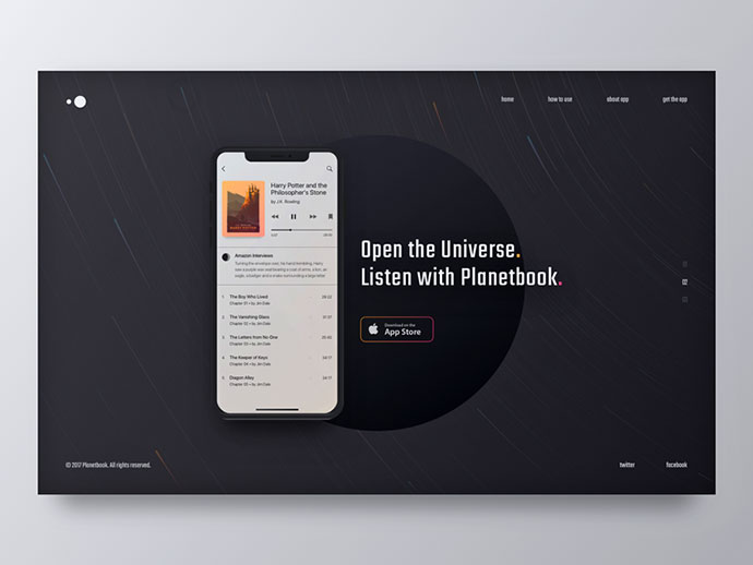 New Mobile App Website Design: WIP