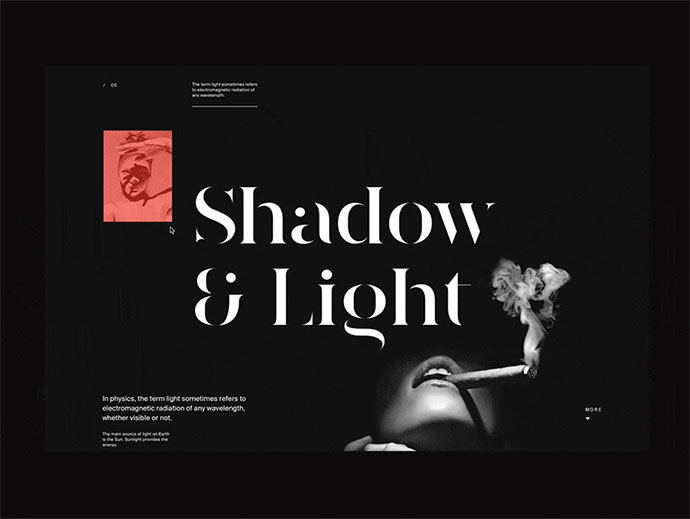 Shadow & Light Motion Concept—part 2