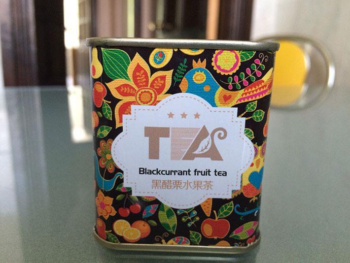 Tea package pattern design