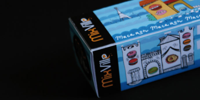 Illustrations and package design for sweets.