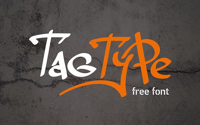Tag Type - Free Font