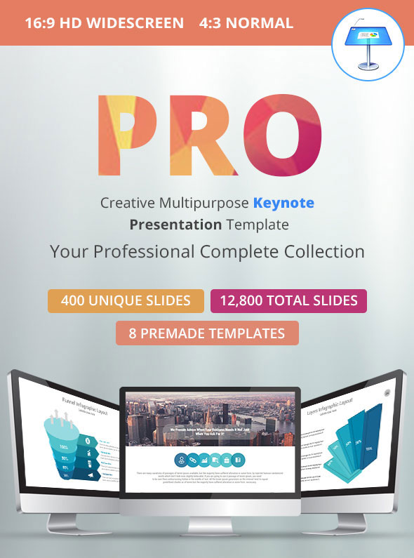 Pro Multipurpose Keynote Presentation Template